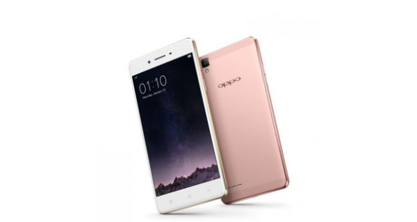 Oppo F1 Limited Edition Front and Back