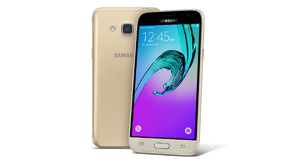 Samsung Galaxy J3 2016 Front and Back