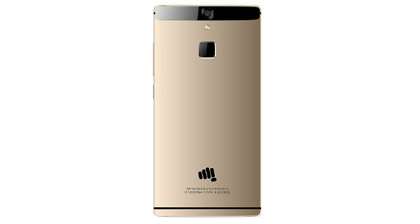 Micromax Canvas 6 Back