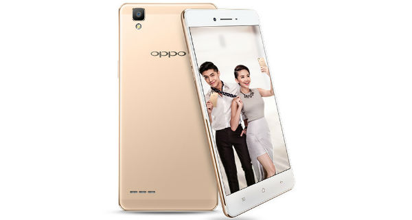 Oppo F1 Plus Front and Back
