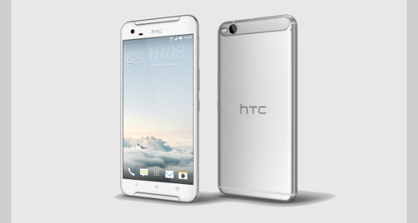 HTC One X9 Front and Back