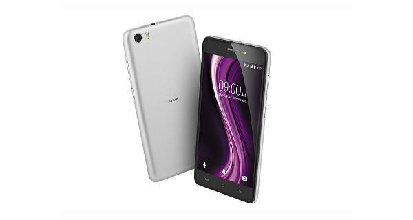 Lava X81 Front and Back