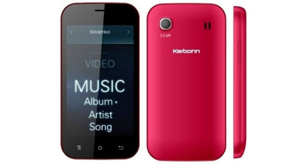 Karbonn A91 3G Smartphone launched in India at Rs. 2899