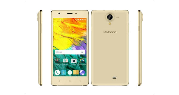 Karbonn Fashion Eye with Quad core processor is available for Rs. 5490
