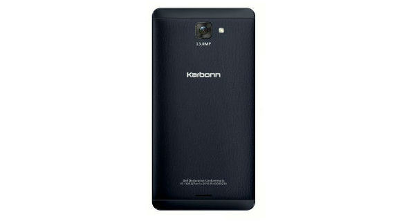 Karbonn Quattro L55 HD Back