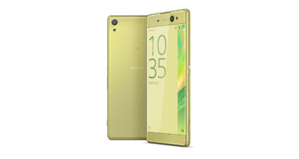 Sony Xperia XA Ultra Front and Back