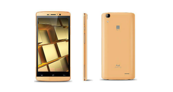 iBall Andi 5Q Gold 4G Launched – Price, Specifications and Features