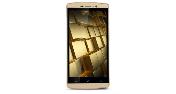 iBall Andi Gold 4G Front