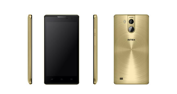 Intex Cloud Sting V2.0 with fingerprint sensor, 4G LTE launched at Rs. 6499