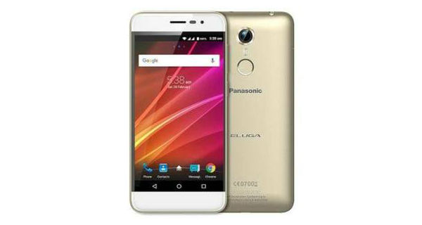Panasonic Eluga Arc 2 Front and Back