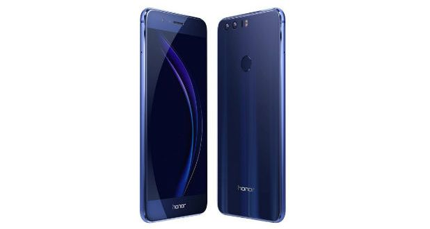 Honor 8 Front and Back
