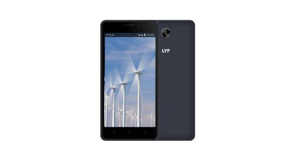 LYF Wind 4S with VoLTE, 4000mah battery launched at Rs. 7699