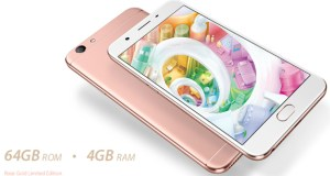 Oppo F1s Rose Gold image
