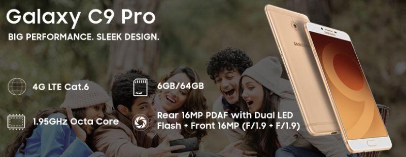 Samsung Galazy C9 Pro