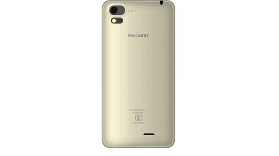 Karbonn Aura Sleek 4G back