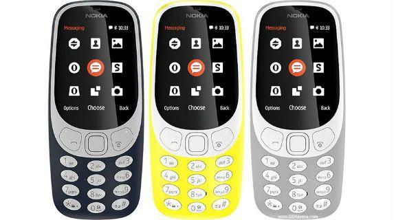 Nokia 3310 2017 front