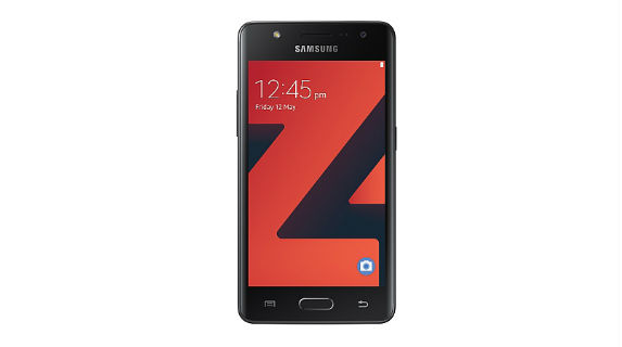 Samsung Z4 back