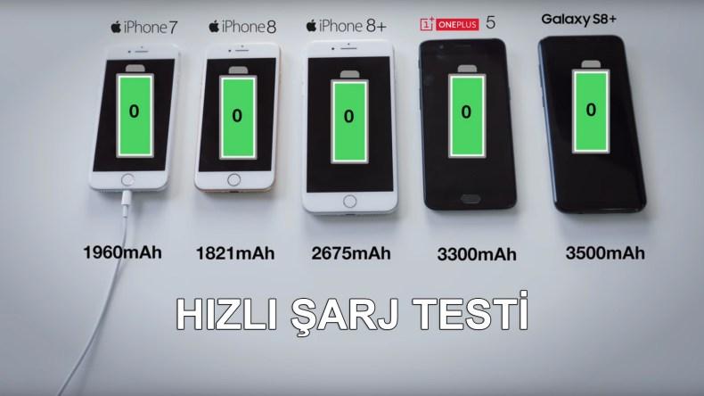 Apple, iPhone X, iPhone 8 ve iPhone 8 Plus modelleriyle ilk defa hızlı şarj destekli telefonlarını bize sundu. Ancak USB-C ile şarj olabilen bu modeller Android rakiplerine göre geride kaldı.