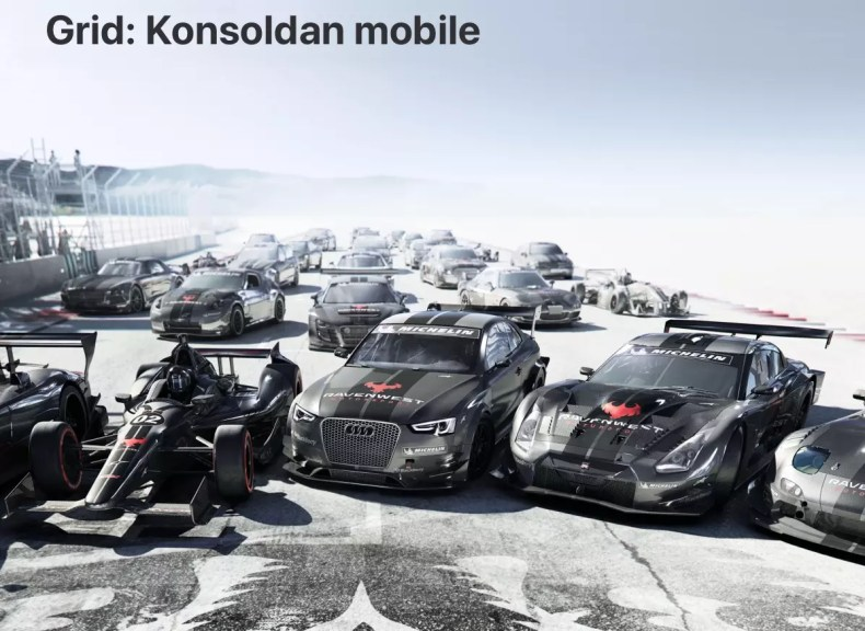 Grid Konsoldan Mobile