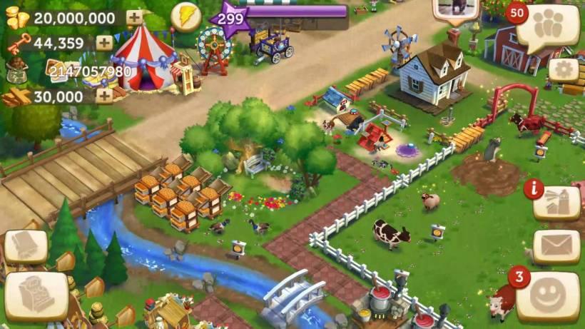 Klasik Mobil Oyun Tavsiyesi - FarmVille 2: Country Escape