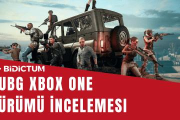PUBG Xbox One sürümü incelemesi
