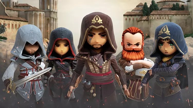 Assassin's Creed Rebellion karakterlerinin karizmatik halleri!