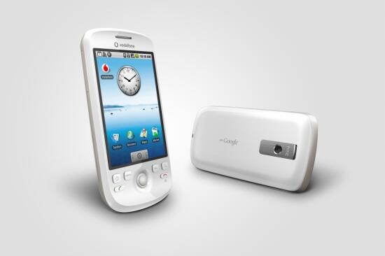 Htc Magic White Schraeg in HTC Magic bei Vodafone ab 30. April 2009 erhältlich