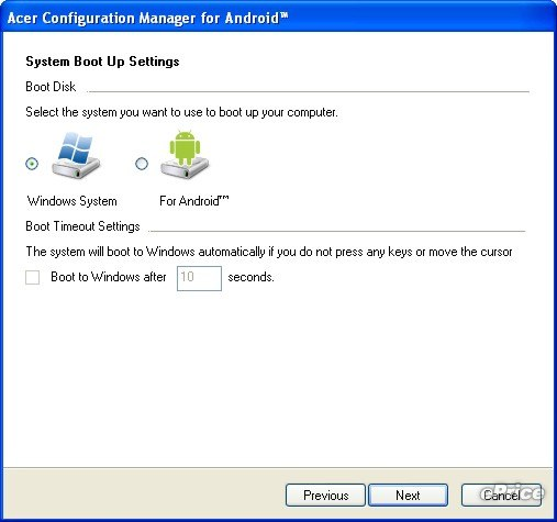 installer Android sur netbook dual boot