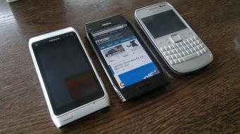Nokia X7 N8 und E6