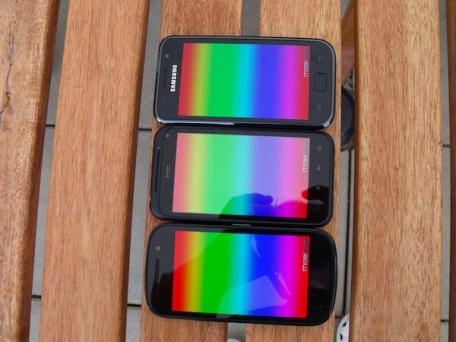 Nexus_S Incredible_S und Galaxy S