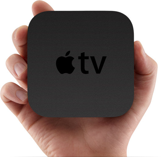 apple tv 2 top