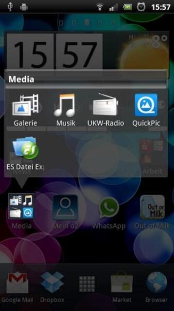 SE Xperia Arc S Screens (12)