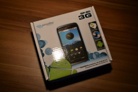 Simvalley SP-80 Dual-SIM-Smartphone Android test (1)