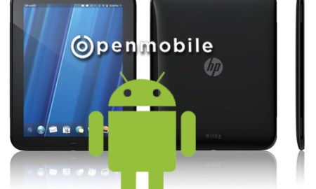 HP Touchpad Android Openmobile
