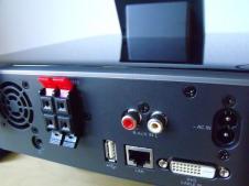 Philips MCI8080 Rückseite Anschlüsse