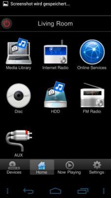 Philips My Remote Menu Screenshot