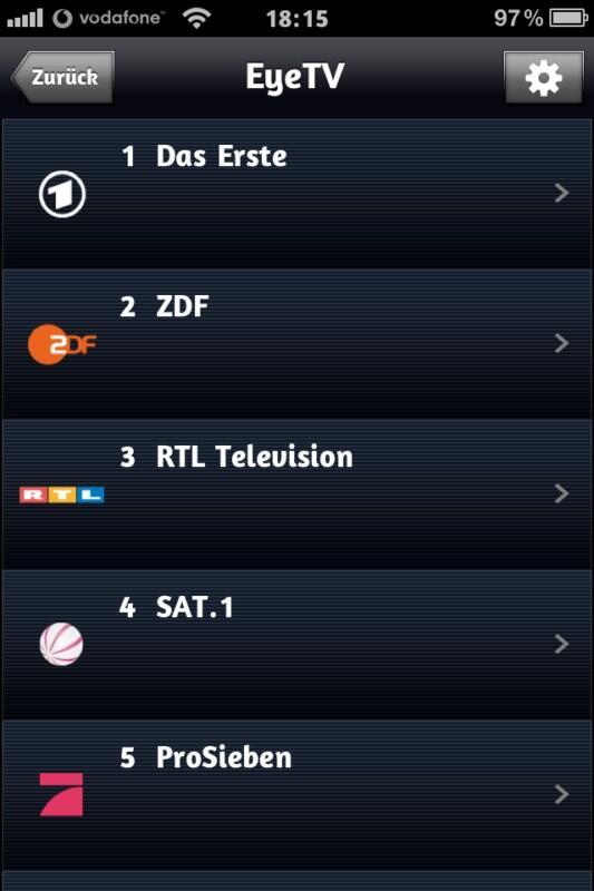 TV im ganzen Haus: Elgato EyeTV Netstream SAT Netzwerk-Tuner