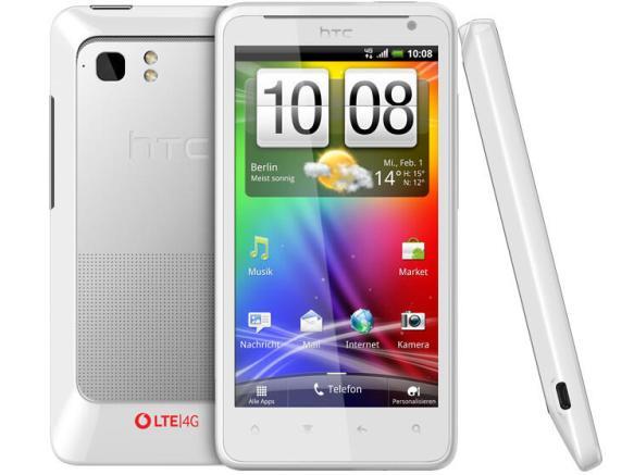 Das HTC Velocity 4G war damals das erste LTE-Smartphone.