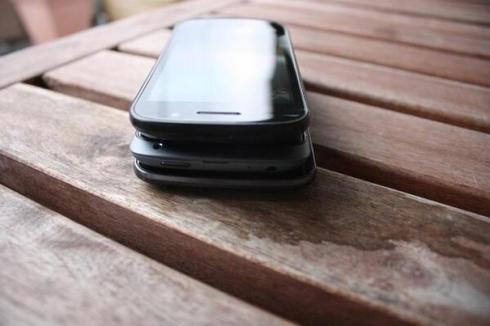 Größe Nexus S HTC One S Galaxy Nexus
