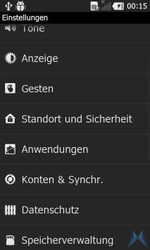 settings 25