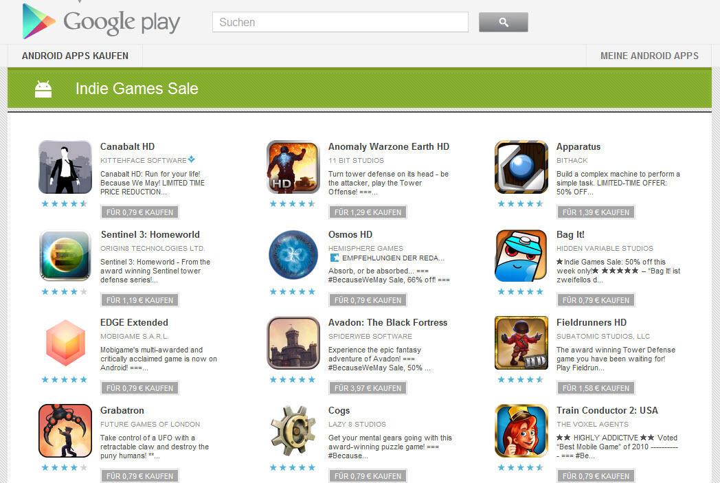 Play Store Spiele Kaufen