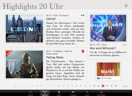 ON AIR 2.5 iPad Highlights 1