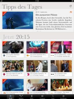 ON AIR 2.5 iPad ON AIR-Ansicht 2