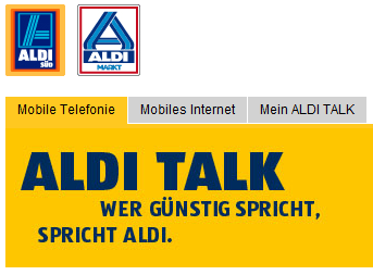 aldi talk startet all in flat 2000 internet flat 500 mb f r unter 20 euro pro monat. Black Bedroom Furniture Sets. Home Design Ideas