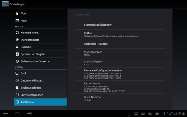 Motorola XOOM WiFi Android 4.0 Update