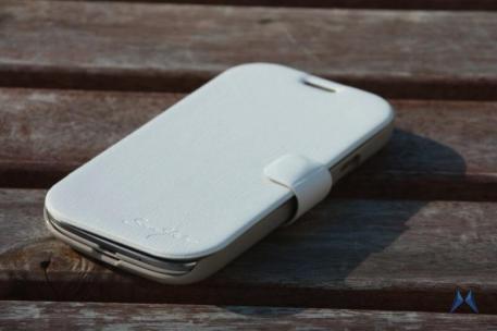 Tridea Samsung Galaxy S3 Flip Card Pocket Case White IMG_8165