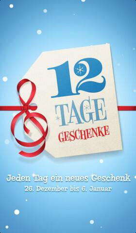12 tage geschenke 2012