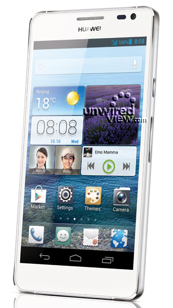 Huawei D2 Emotion UI press shot