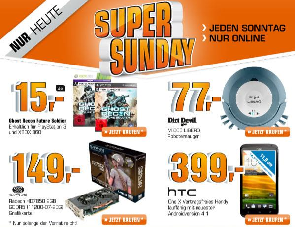 htc one x saturn super sunday