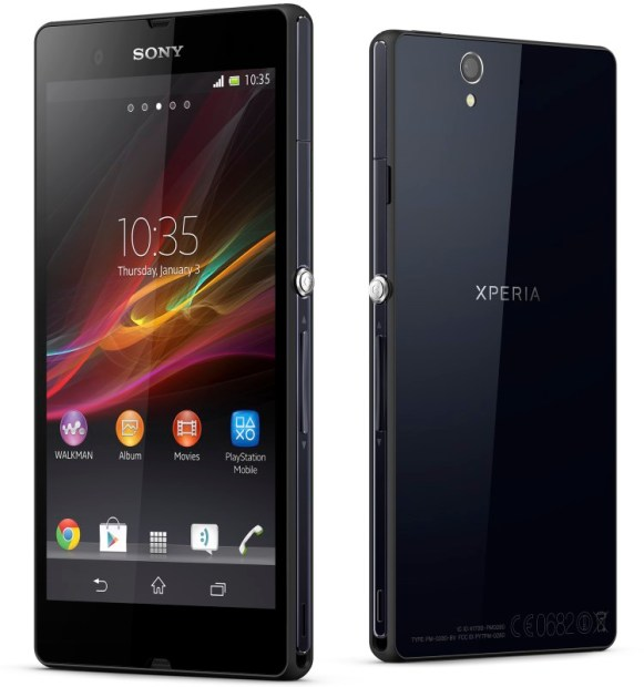 Xperia Z Group Black
